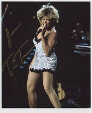 Tina Turner Signed Photo 1st Generation Print Ltd 150 Certificate 1