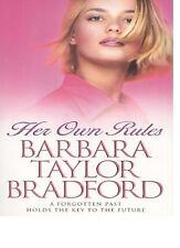 BARBARA TAYLOR BRADFORD  __ HER OWN RULES ___ BRAND NEW __ FREEPOST UK