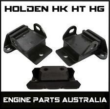 HOLDEN HK HT HG CHEV ENGINE & TRANS TRANSMISSION GEARBOX MOUNT KIT 327 350 454