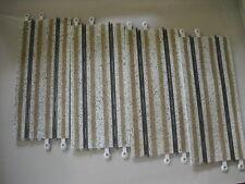 MATERIAL USADO  2º MANO Lote de 4 rectas de 350mm Efecto Nieve Scalextric