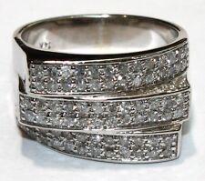 White Gold 14k. 1.00ct. Diamond Ring
