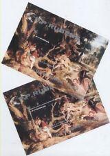 TABLEAU RUBENS Corée 2 blocs (2) D et ND de 1983