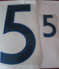 N ° 5 grandes y pequeñas Inglaterra Home Football Shirt nombre establecido sólo números de Deportivos Id