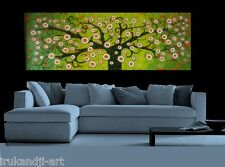 Australia canvas  Tree Landscape Painting abstract  By Jane COA green black
