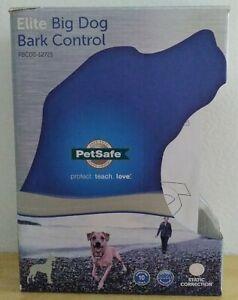 PetSafe Elite Big Dog Bark Control Collar, Anti-Bark Training Collar PBC00-12725
