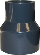 """NEW SCH 80 PVC 2"""" X 1-1/4"""" (BELL) REDUCING COUPLING SOCKET CONNECT"""