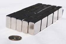 1 / 2 / 5 / 10 / 25 pcs 10mm X 20mm x 20mm square MAGNETS N45 Neodymium (64)