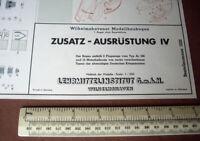 Wilhelmshavener Modellbaubogen Lehrmittelinstitut Accessory Kit IV (#1233)