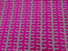 Zoffany Curtain/Upholstery Fabric 'VERDI' 1 METRE (100cm) ANEMONE - Cut Velvet