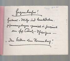 Hagenbacher Witze und Anekdoten Hagenbach Pfalz am Rhein handgeschrieben 1970er