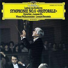 """BEETHOVEN : SYMPHONIE NR. 6 """"PASTORALE"""" - """"LEONORE III"""", WP - BERNSTEIN / CD"""