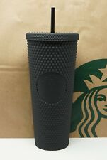 Starbucks Bling Opaque Cold Cup 710 ml 24 fl oz NEU matt schwarz Tumbler Studded