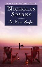 At First Sight by Nicholas Sparks (2005, Hardcover, Large Type)