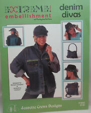 Jeanette Crews Extreme Embellishment Denim Divas Projects To Sass up Denim