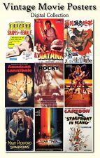 4900+ Classic Movie posters digital versions Horror, Mystery, Drama, Bruce Lee