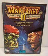 Vintage 1995 Warcraft II Tides of Darkness Instruction Manual Booklet Big Box