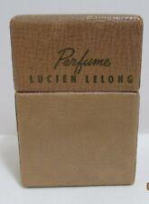 Vintage Lucien Lelong Round Trip Indiscrete Perfume Bottle in Original Box