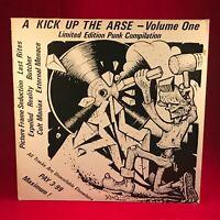 VARIOUS  A Kick Up The Arse Volume One 1985 UK Vinyl LP EXCELLENT CONDITION PUNK