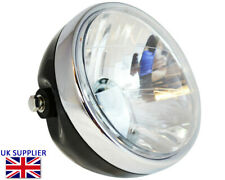 Headlight for Ducati Monster Street Cafe Racer Retro Project- Black 12V 35W 6.5""