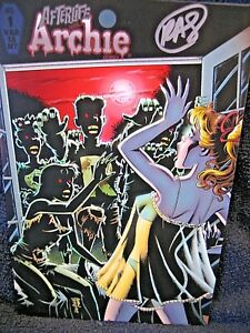AFTERLIFE With ARCHIE #1 -  SIGNED !  SEXY BETTY COVER VARIANT !!