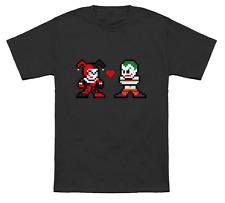 MAD LOVE 8-Bit T-Shirt Harley Quinn Joker Mega Man Mashup Suicide Squad Batman