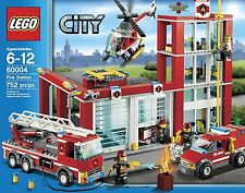 LEGO CITY FIRE STATION 60004 New In Box Retired Set
