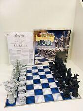 Harry Potter Wizard Chess Mattel Zauberschach complete W/ Box & Instruction 2002