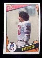 1984 Topps MOSI TATUPU New England Patriots Rookie Card
