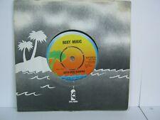 "RECORD 7"" SINGLE ROXY MUSIC BOTH ENDS BURNING 1185"