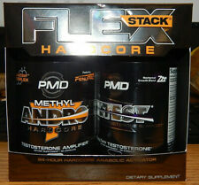 PMD FLEX Stack Hardcore 24 Hour Anabolic Activator Dietary Supplement ANDRO/ZTES