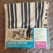 You & Me Crate Cover For X Small Crates Navy Striped
