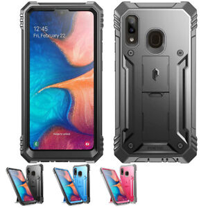 Samsung Galaxy A20 / A30 CasePoeticShockproofCoverwithScreenProtector