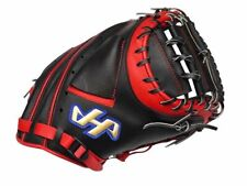 HATAKEYAMA Pro 33 inch Baseball Catcher Mitt - Black/Red