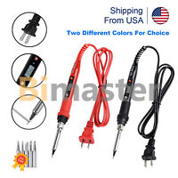 80W Soldering Iron Digital LCD Electric Welding Tools Solder Wire Tweezers Hand