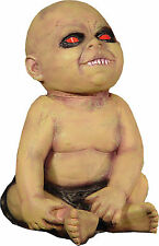 HALLOWEEN LIFE SIZE ANIMATED SPINNING HEAD ZOMBIE POSSESSED BABY PROP DECORATION