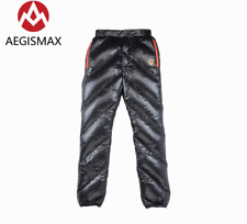 Unisex shiny soft nylon wet-look new down pants trousers bottoms britches sport