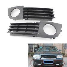 Car Fog Light Lamp Cover Front Bumper Grille for Audi A6 C5 Quattro 2002-2005