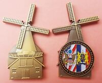 """US Embassy The Hague Diplomatic Attache 2.75"""" Challenge Coin t 102"""