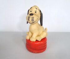 Figurine ancienne PVC série Wum & Wendelin Schleich : Wum sur socle