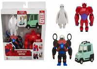Big Hero 6 Baymax and Car Ages 4+ Toy Play Robot Squeeze Wasabi Gift Set Race
