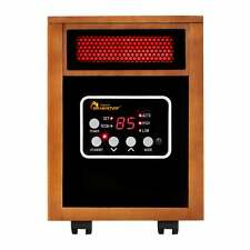 Dr. Infrared Heater DR-968 1500-watt Portable Space Heater Brown