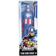"Hasbro Marvel Avengers Assemble Titan Hero Series Captain America 12"" Figure"