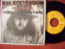 B. W. Stevenson - My Maria / August evening Lady     RCA  45
