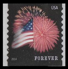 US 4854 Star-Spangled Banner forever coil single APU (1 stamp) MNH 2014