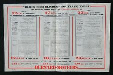 Brochure commerciale BERNARD MOTEURS blocs semi-blindés motor