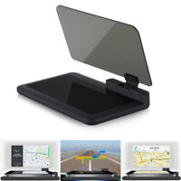 H6 auto GPS HUD Head Up affichage Smart Phone Mount support projecteur stand I