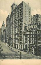 Manhattan Nyc Broadway & Standard Oil Bldg. From Bowling Green Pre-07 P/C