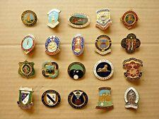 More details for twenty (20) vintage enamel badges bowling clubs h.w. miller