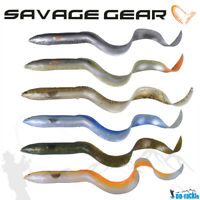 Savage Gear 3D Real Eel Albino 15-40cm / 12-147g Loose Body Gummiaal Hecht Wels