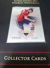 2016 Futera Unique soccer silver parallel card 062 Carlos Bacca Colombia 04/21